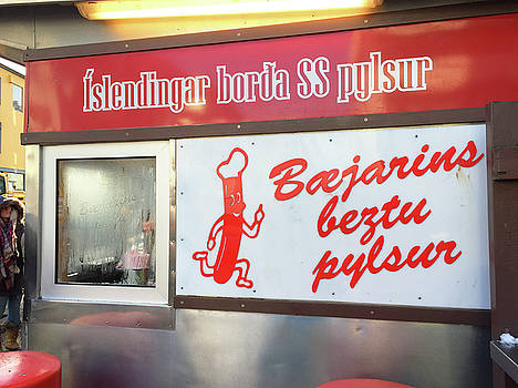 Iceland's World Famous Hot dog Stand Iceland 2 3122018 j2328.jpg by David Frederick