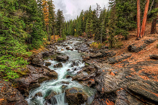 Icicle Gorge 2 by Brad Granger