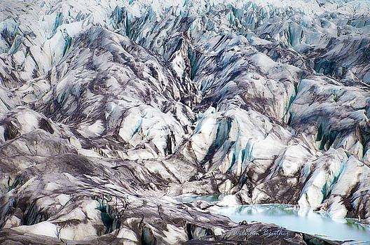 Iclandic Glacier by William Beuther