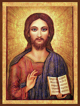 Icon Christ by Ananda Vdovic