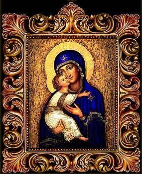 Icon Madonna Altar by Ananda Vdovic