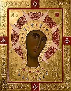 Olga Shalamova - Icon of Our Lady of Filermo.