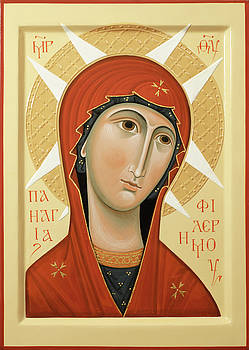 Olga  Shalamova - Icon of Our Lady of Philermo
