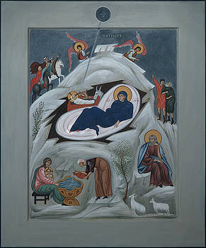 Philip Davydov - Icon of the Nativity of Christ