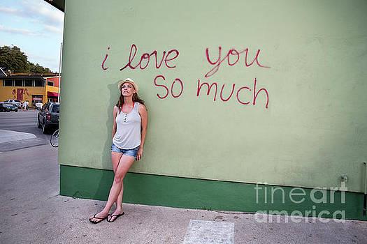 Herronstock Prints - Iconic Austin I love you so much