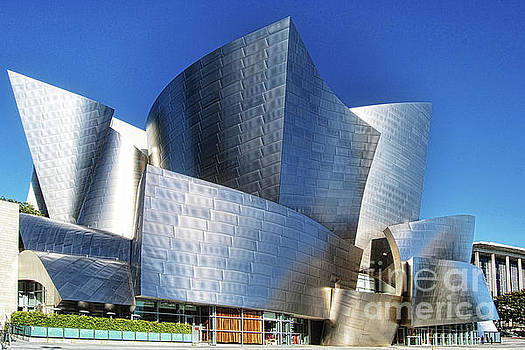 Iconic Disney Concert Hall  by Norma Warden