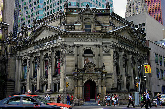 Iconic Hockey Hall of Fame by Paul Wash