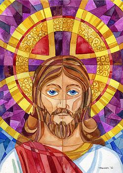 iconic Jesus by Mark Jennings