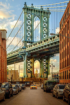 Iconic Manhattan by Az Jackson