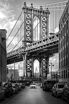 Iconic Manhattan BW by Az Jackson