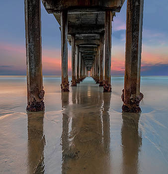 Iconic Scripps Pier by Larry Marshall