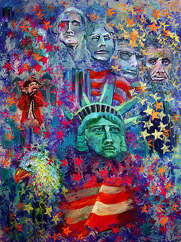 Icons of Freedom by Peter Bonk