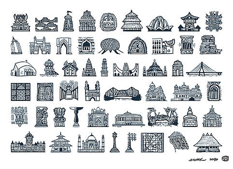 Icons of Indian Architecture by Sasank Gopinathan