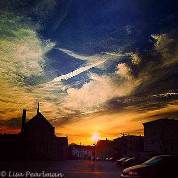 #ic_skies #sunset_madnessz by Lisa Pearlman