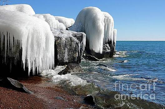 Icy Beauty after the Storm by Sandra Updyke