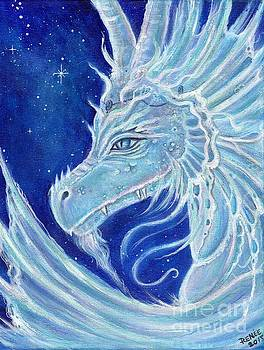 Icy Blue Dragon by Renee Lavoie