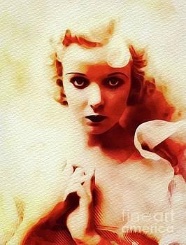 John Springfield - Ida Lupino, Vintage Movie Star