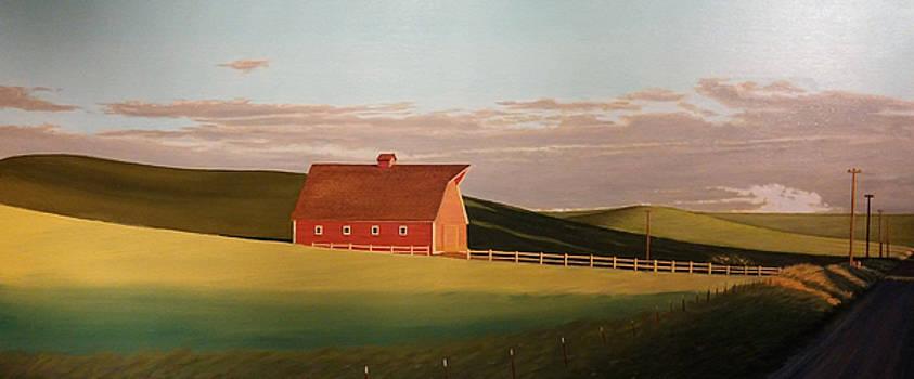 Idaho Farmstead by Leonard Heid