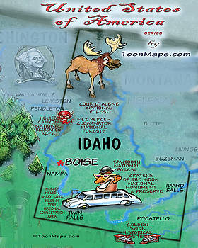 Kevin Middleton - Idaho Fun Map