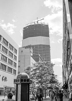 IDS Building construction by Mike Evangelist