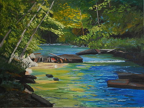 Idyllic Summer by Margaret Farrar
