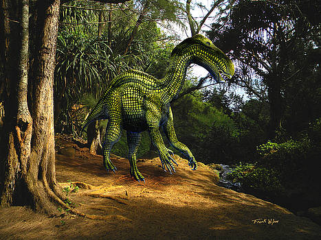 Frank Wilson - Iguanodon In The Jungle