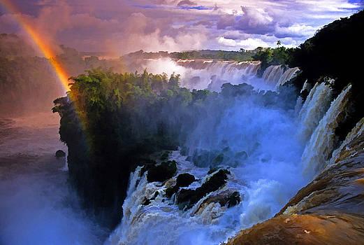 Dennis Cox - Iguazu Falls Rainbow