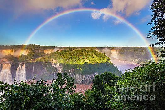 Iguazu Rainbow by Inge Johnsson