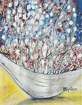 Ikebana Delight by Evelina Popilian