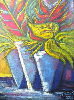 ikebana II by Fernanda Cruz