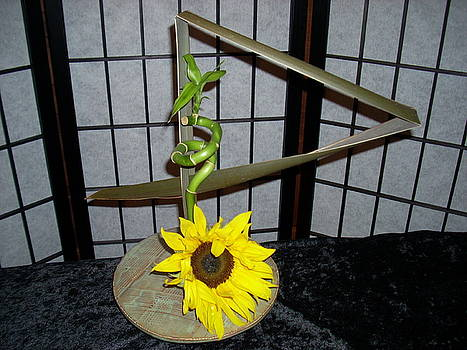 Ikebana vase by Carroll  Dorrell-Hightower