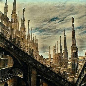 Il Duomo Milan Study 7 by Leonard Rosenfield