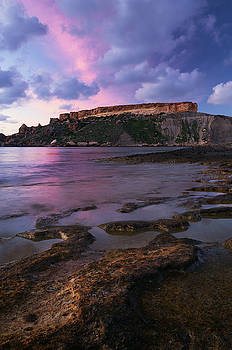 Il-Karraba in evening twilight, Mgarr, Malta by Sergey Ryzhkov