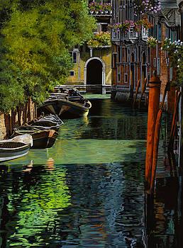 il palo rosso a Venezia by Guido Borelli