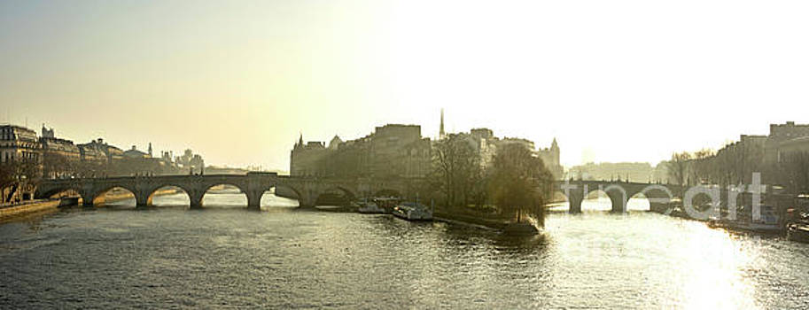 Ile de la Cite in Paris. France by Bernard Jaubert