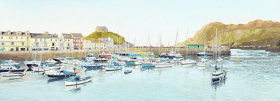 Ilfracombe Harbour, Early Evening by Mark Woollacott