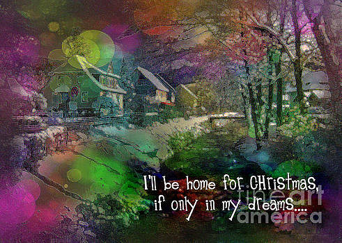 I'll Be Home card 2016 by Kathryn Strick