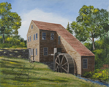 Mill by the Brook by Timothy Spongberg
