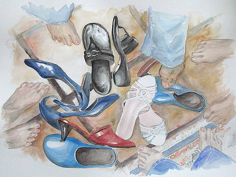 I'll take the Gardening Shoes by Karen Boudreaux