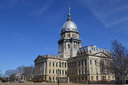 Illinois State Capitol  by Sue Houston