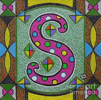Illuminated Letter S by Heather McFarlane-Watson