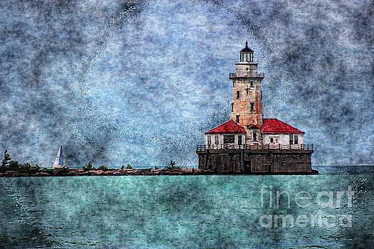 Illuminated Lighthouse by Anna Sheradon