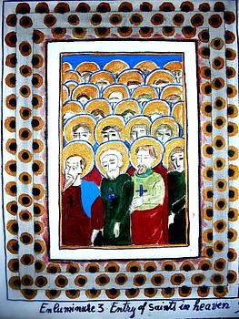 Illuminated Manuscript3 by Elena Buftea