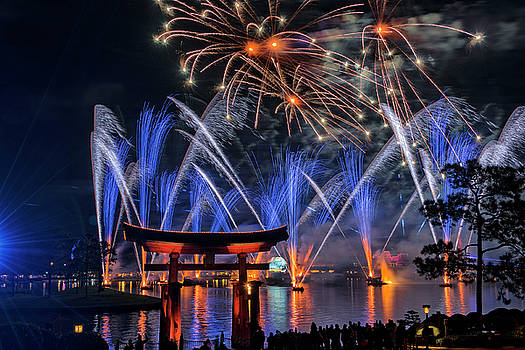 Illuminations 2 - Epcot Center At Disney World Orlando Florida by Jim Vallee