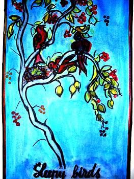 Illustration Of Eminescu S Poem by Elena Buftea