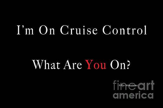 Felipe Adan Lerma - Im On Cruise Control Gift Saying