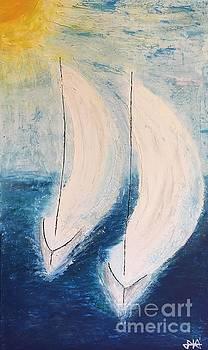 I'm sailing by Agota Horvath