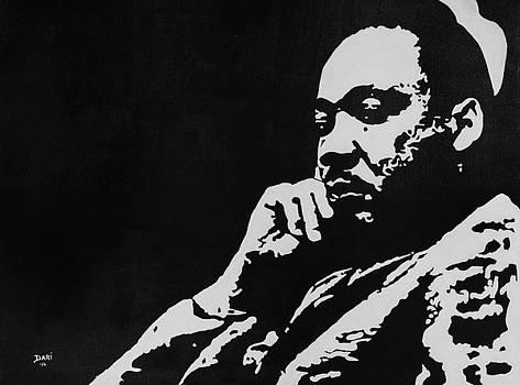 Dari Artist - Image for MLK granite monument