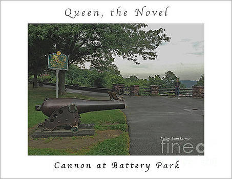 Felipe Adan Lerma - Image Included in Queen the Novel - Cannon at Battery Park Enhanced Poster