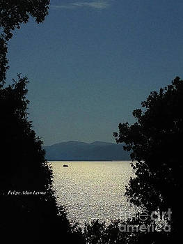 Image Included in Queen the Novel - Light on Lake Champlain 20of74 Enhanced by Felipe Adan Lerma